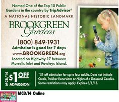 Brookgreen Gardens Coupons by Direct Tools Factory Outlet Myrtle Resorts