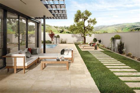 terrasse fliesen italienische fliesen und naturstein auf der terrasse
