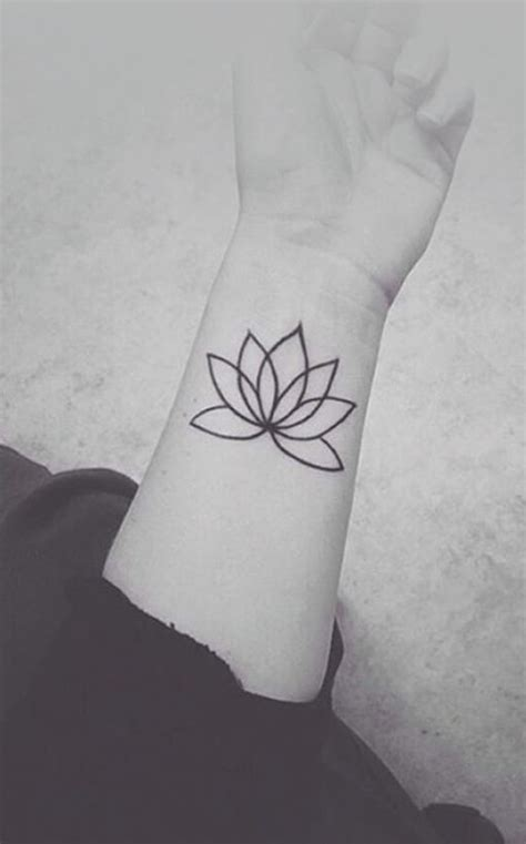 simple lotus flower tattoo tattoo collections