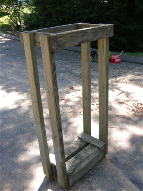 build firewood cutting rack shortening firewood that is for your stove