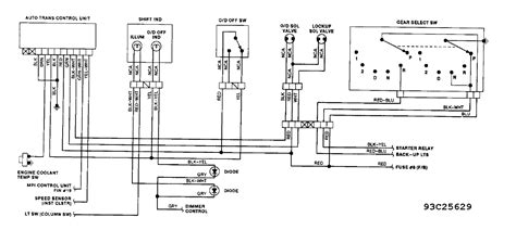 mitsubishi fuse box diagram 1987 mighty max mitsubishi