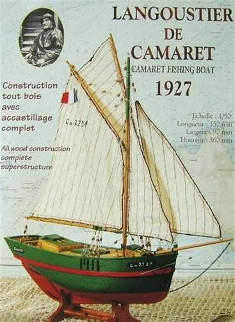 fishing boat kits ship model soclaine yann et gael lobster boat models