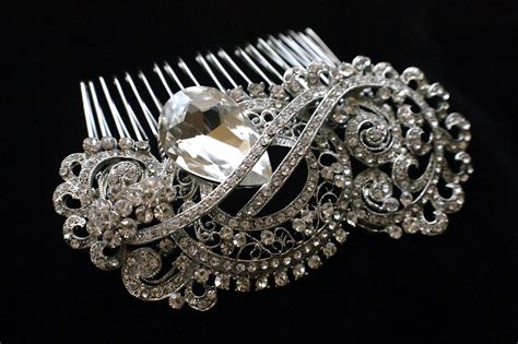 Vintage Wedding Hair Brooches by Stylish Wedding Brooch Comb For Bridal 2014 Adworks Pk