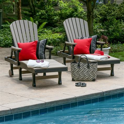 Comfo Back Chaise Lounge Casual Outdoor Furniture