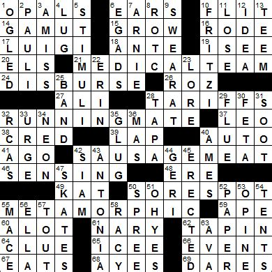 usa today crossword answers june 16 2015 la times crossword answers 25 jun 15 thursday