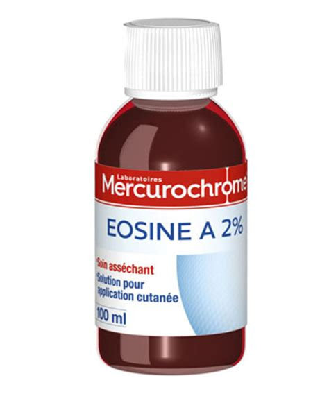 eosin test eosine 224 2 mercurochrome en solution