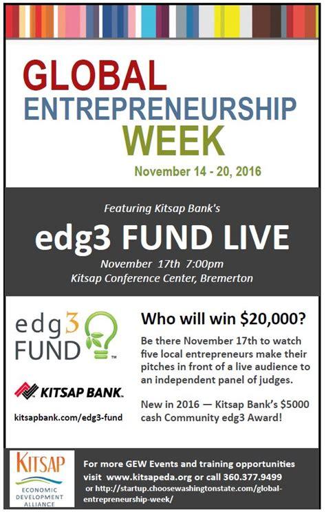 Global Entrepreneuership Mba Florida by Kitsap Global Entrepreneurship Week 2016 Kitsap Economic