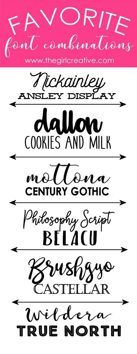 Wedding Font Pairings Free by Best 25 Font Pairings Ideas On Font