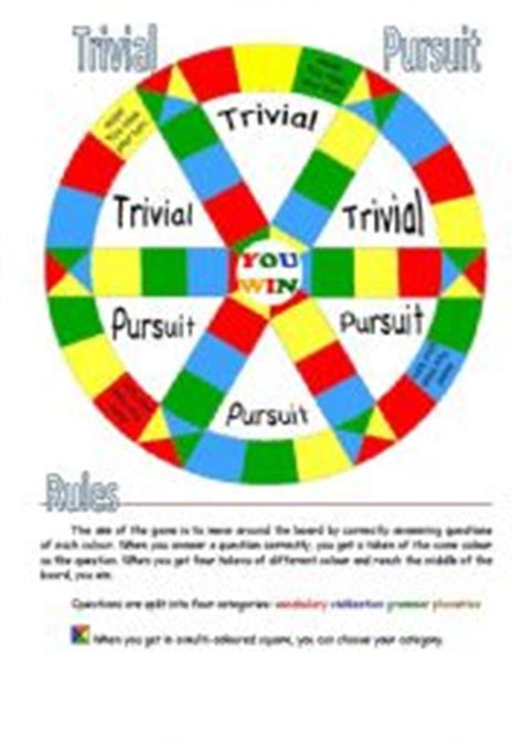 blank trivial pursuit card template teaching worksheets board