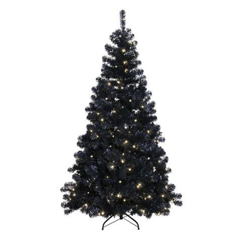 schwarzer led weihnachtsbaum 210cm f 252 r innen und aussen
