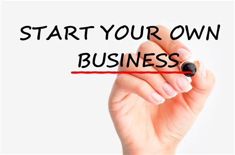 my wont open his starting your own business