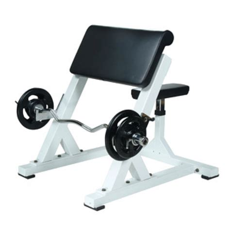 how to make a preacher curl bench york barbell st preacher curl bench sts pcb