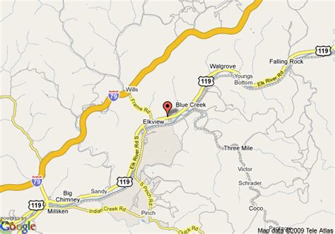 charleston wv map map of country inn and suites charleston elkview