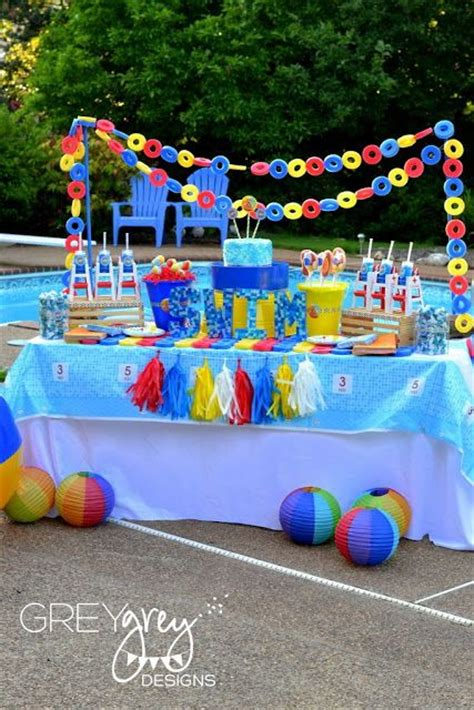 pool party decorations pool party decorating ideas decozilla