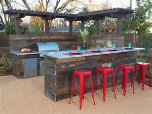 Outside Bar Exterior Inspiring Diy Outdoor Bar With Chic And Cozy