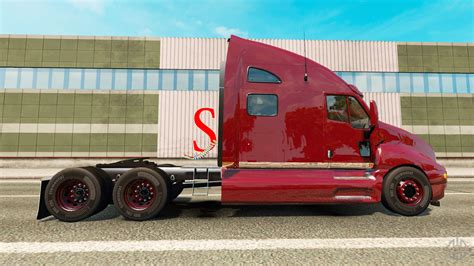 kenworth bus kenworth t2000 for euro truck simulator 2