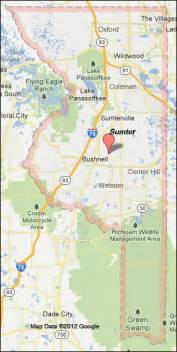 lake sumter florida map the villages 171 every county