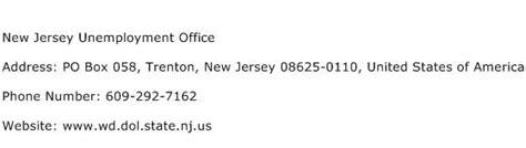 Jersey Address Finder New Jersey Unemployment Office Address Contact Number Of New Jersey Unemployment Office