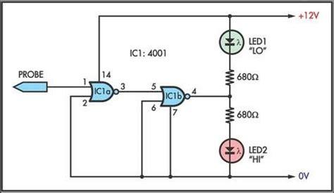 probe circuit diagram logic circuit page 4 digital circuits next gr