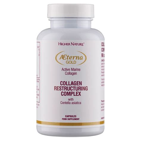 Collagen Gold aeterna gold collagen restructuring complex from higher nature wwsm