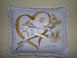 cuscini portafedi ricamati cuscino portafedi ricamati feste matrimonio di