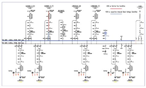 schematic diagram of switchyard circuit and schematics