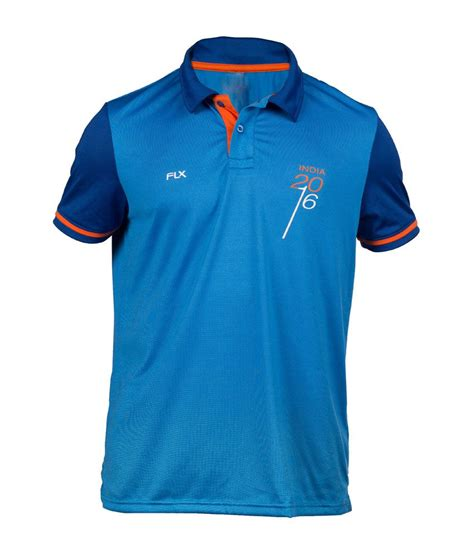 Buy T Shirts In India Flx Cricket World T20 India T Shirt By Decathlon Buy