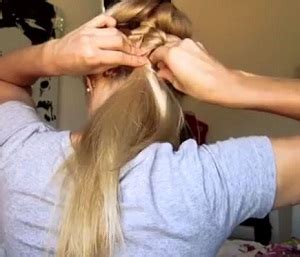 tutorial rambut berponi tutorial rambut mudah dan simple untuk sekolah atau kuliah