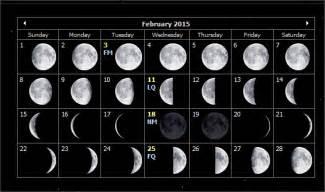 Look At The Calendar Moon Calendar 2015 February Myideasbedroom