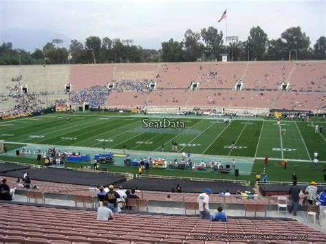 section 20 a ucla football rose bowl stadium section 20