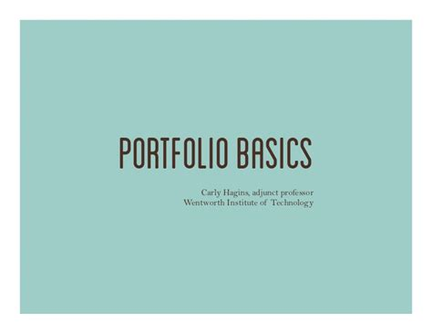 pattern making portfolio skills pdf industrial design portfolio basics art and design