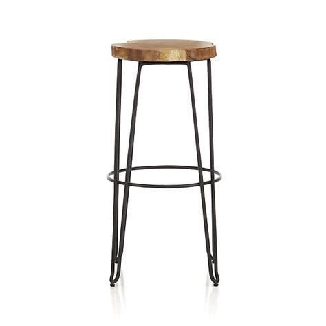 Crate And Barrel Bar Stool Origin 30 Quot Bar Stool I Crate And Barrel