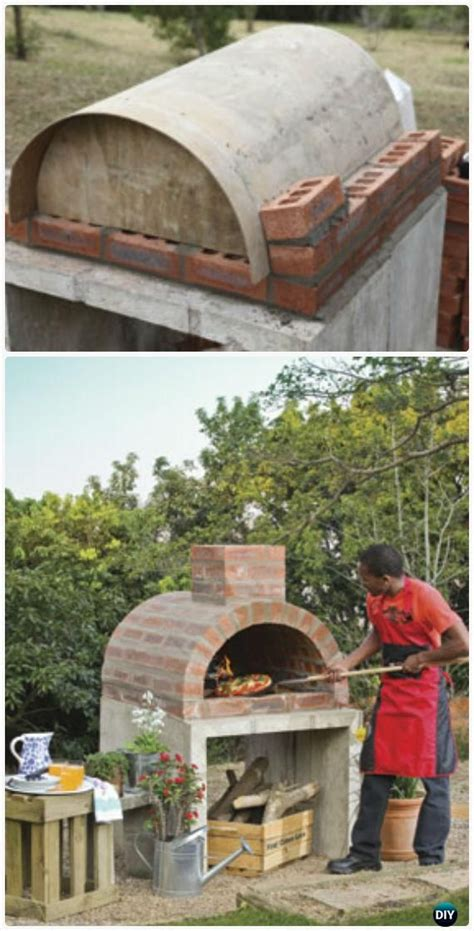 Diy Outdoor Pizza Oven Ideas Projects With Instructions Backyard Brick Oven Plans