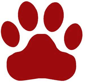 Cougar paw logos frisch cougars
