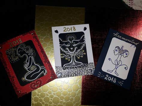Handmade Cards For New Year - best handmade cards new year 2018 12 handmade4cards