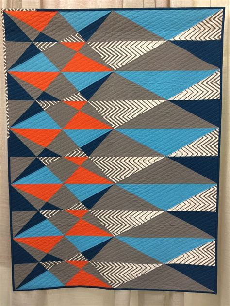 Chevron Quilt Pattern No Triangles by 17 Best Images About Zig Zag Chevron Quilts