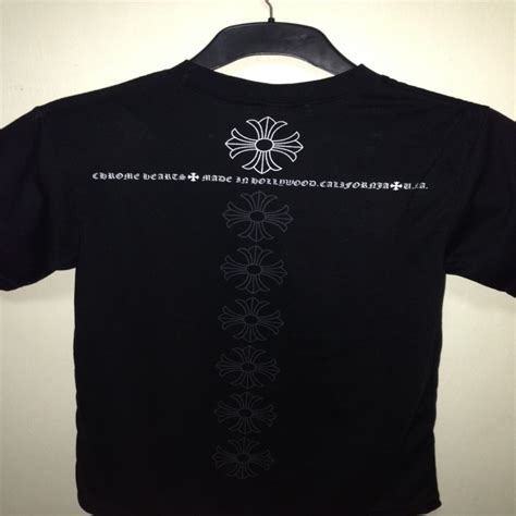chrome hearts t shirt chrome hearts classic tee aeomstore the best bits of