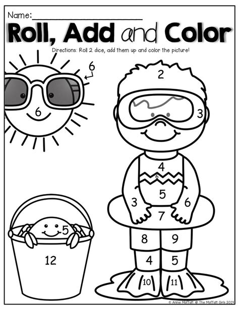 summer color by number coloring pages summer color by number coloring pages www imgkid com