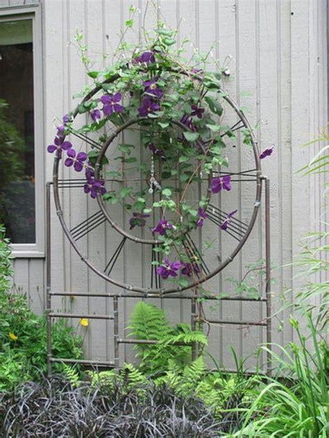 31 Best Copper Pipe Images On Pinterest Yard Art Garden Garden Wall Trellis Metal