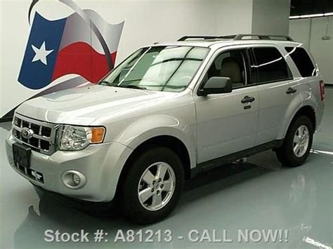 2011 Ford Escape Roof Rack by Find Used 2011 Ford Escape Xlt Sunroof Htd Leather Roof