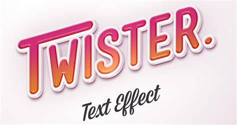 Design Business Cards Print At Home Psd Twister Text Effect Photoshop Text Effects Pixeden