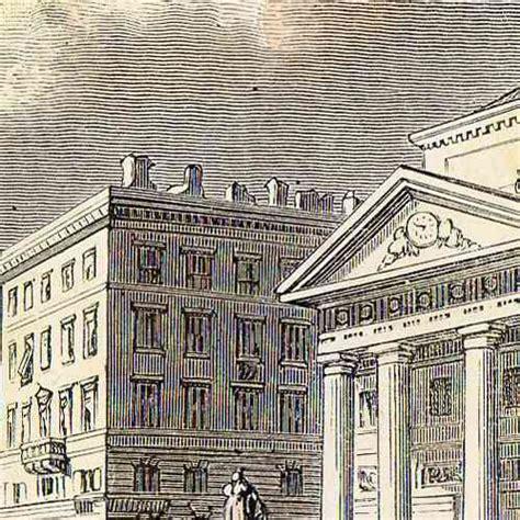 Miroir Fenetre 1877 by Gravures Anciennes Vue De Trieste Place De La Bourse