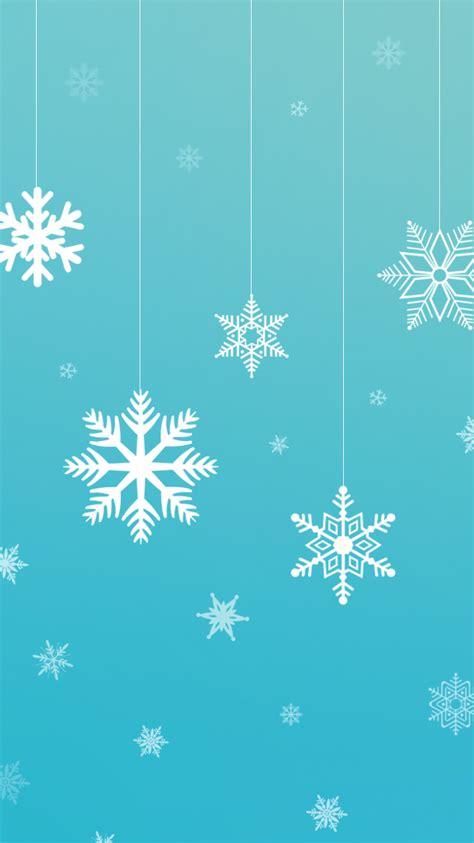 iphone themes christmas snowflake vector wallpaper free holiday iphone wallpaper