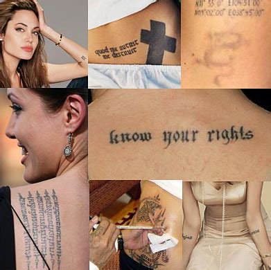 angelina jolie tattoo wallpaper hot wallpaper angelina jolie tattoos