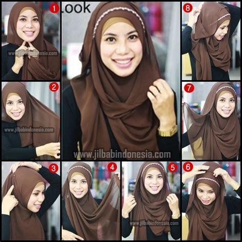 tutorial hijab simple modern tutorial jilbab segi empat syar i