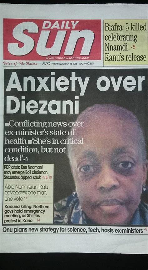 latest nigerian news nigerian newspapers online nigerian newspapers newspapers from nigeria nigerian news