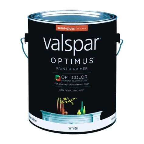 valspar optimus paint primer interior semi gloss gallon louie s ace hardware