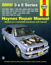 auto repair manual free download 1992 bmw 3 series windshield wipe control 1984 1992 bmw 3 5 series haynes repair manual