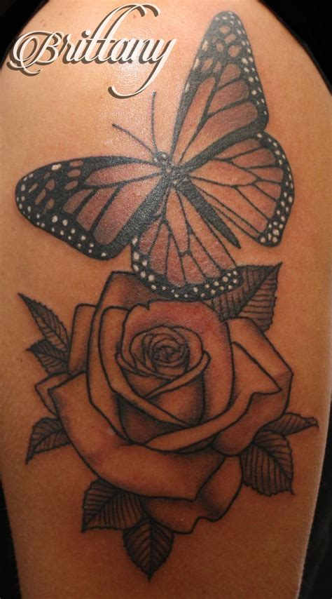 butterfly rose tattoo designs best 25 and butterfly ideas on
