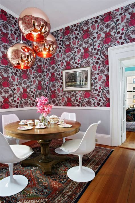 eclectic dining room chairs mix of chairs in the dining mid century modern chairs dining room eclectic with